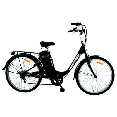 Le vélo Wayscral W300 (250W) est équipé d'une batterie 24 V (25 à 40 km d'autonomie à 25 km/h)