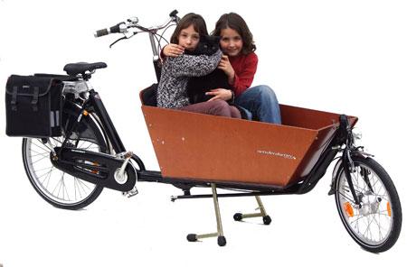 Le biporteur électrique de la marque hollandaise Amsterdamer